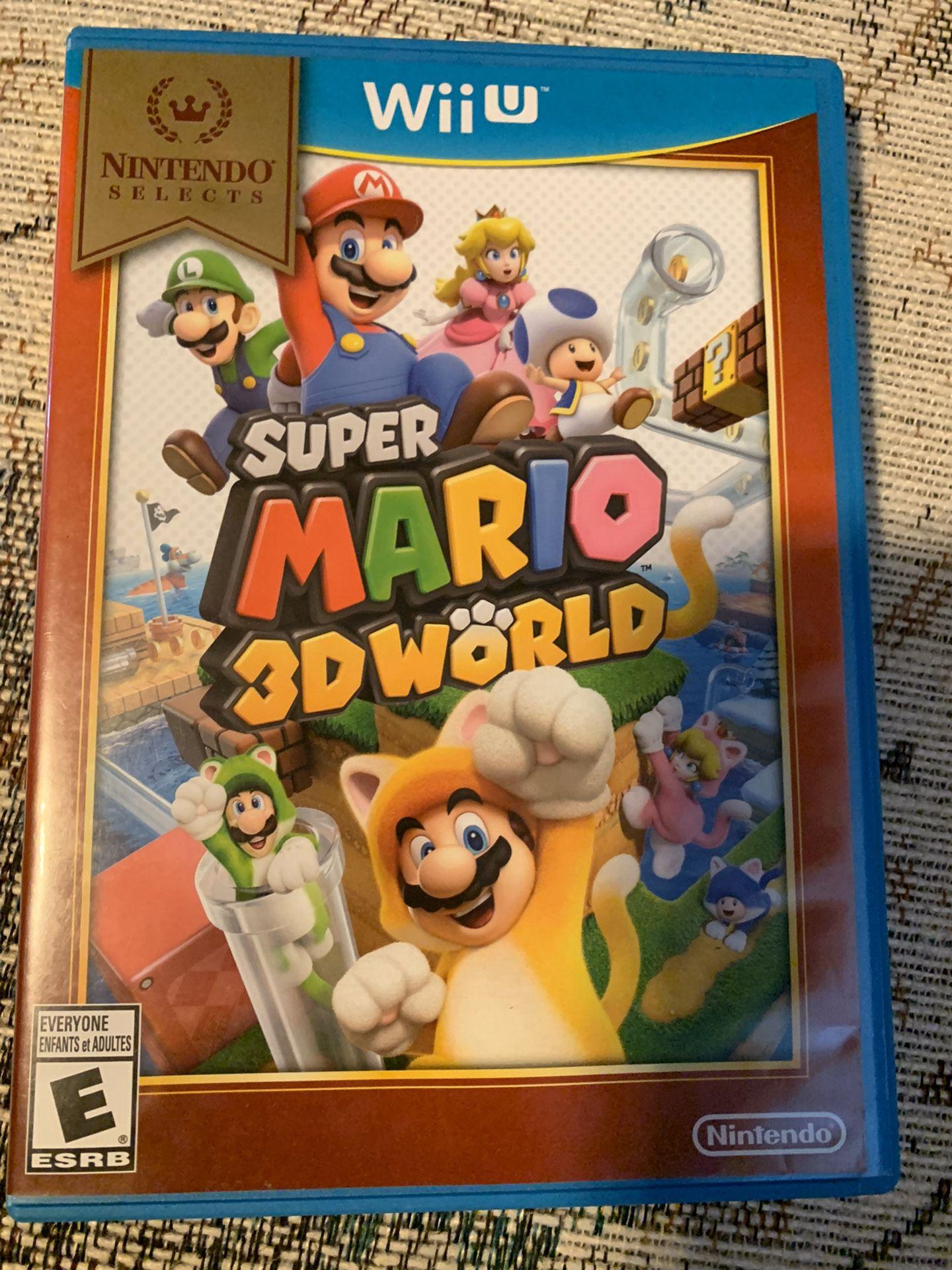 Wii U games $15 a piece