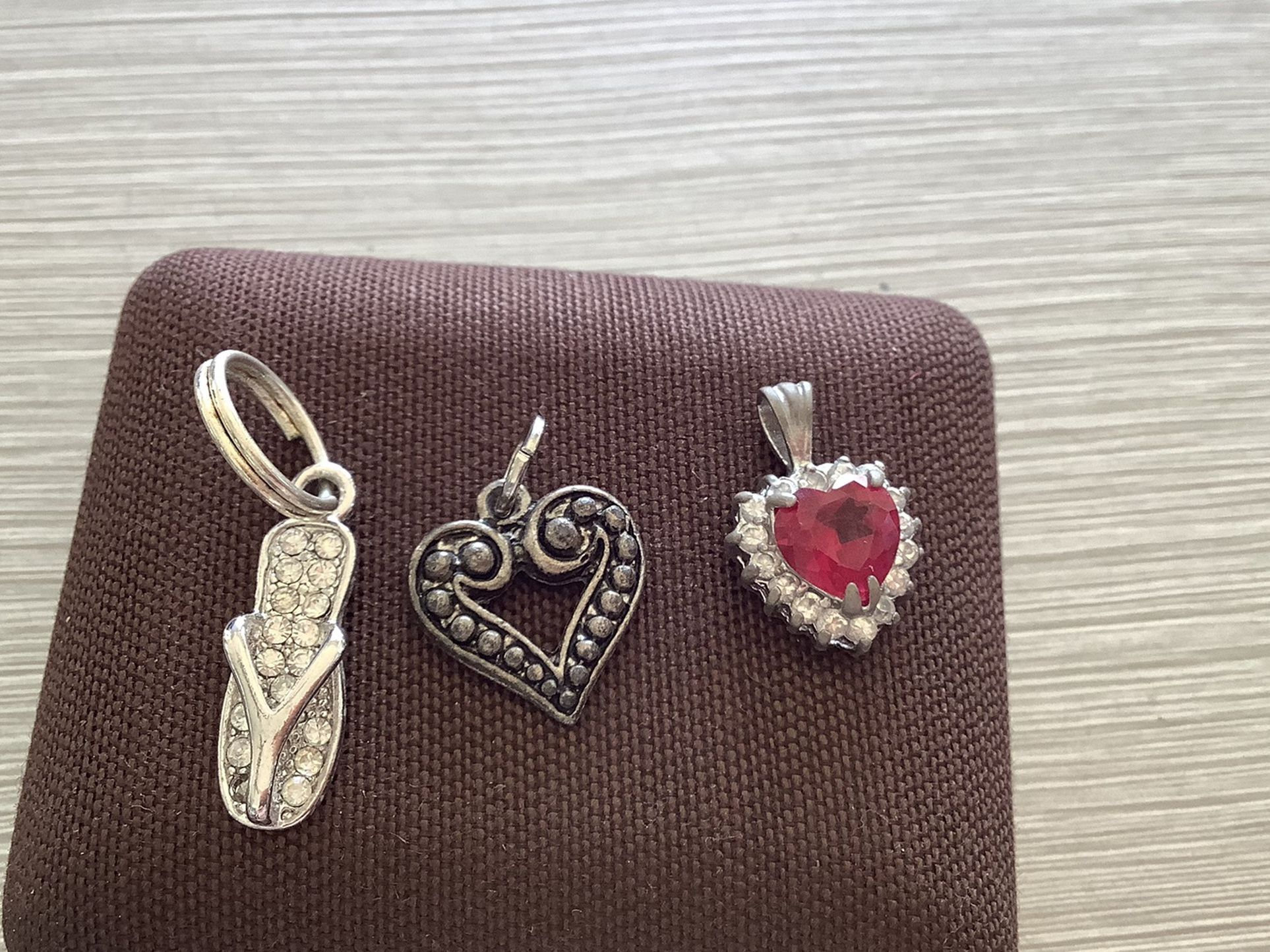 3 Charms For Necklace $3
