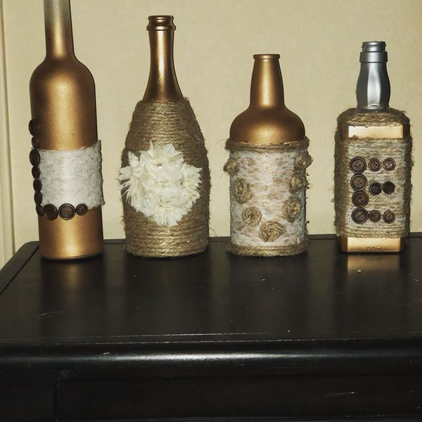 Repurposed Liquor Bottle Vases Arts Crafts In Killeen Tx Offerup