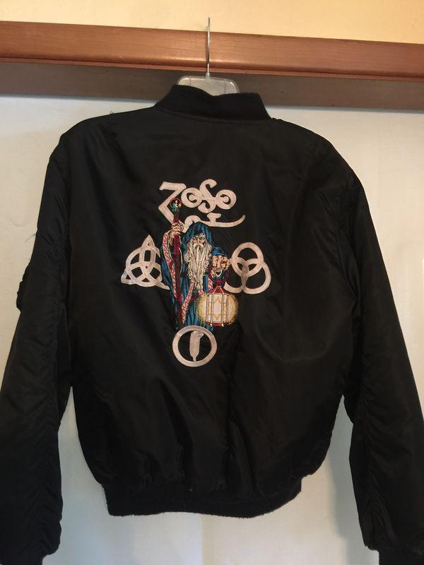 b53b0faff 1980s Led Zeppelin ZOSO Bomber Jacket Original 1980s Led Zeppelin ZOSO  Bomber Jacket. for Sale in Dayton, OH - OfferUp