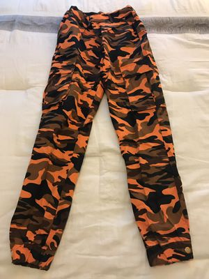 Orange Camouflage Pants for Sale in Rockville, MD