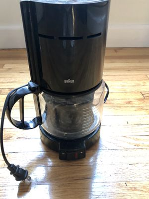 Braun Basic Coffee Maker for Sale in Santa Monica, CA