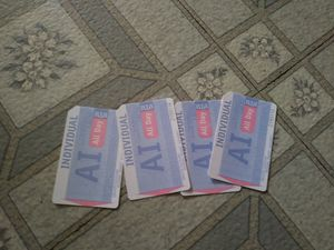 4 all day bus tickets for Sale in Cleveland, OH
