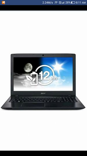Gaming laptop Acer Aspire E 15 7th Gen for Sale in Rockford, IL