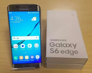 Samsung Galaxy S6 edge   Factory Unlocked + box and accessories + 30 day warranty for Sale in Falls Church, VA