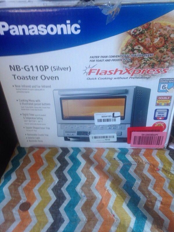 Panasonic toaster oven. Flash express