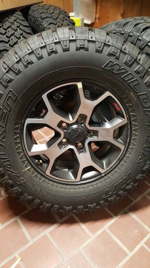 Photo Stock 2020 Rubicon Wheels with LT285/70R17 Faulken Wildpeak M/T set of 5 with 0 miles