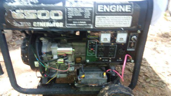 Cummins 6500 industrial generator for Sale in Greenville ...