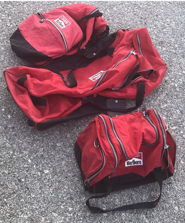 3 Collector S Item Marlboro Bags Duffle Rolling Bag And Backpack For In Omaha Ne Offerup