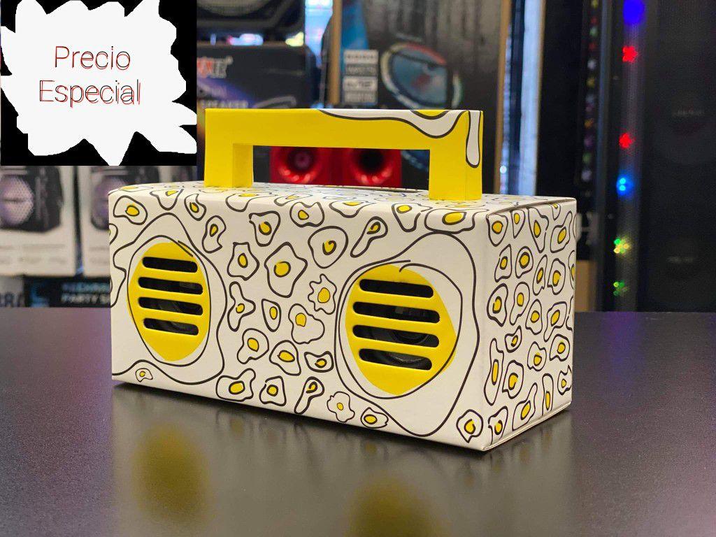 Speaker Bluetooth Inlambrico USB SD Card FM Radio Inlambrico