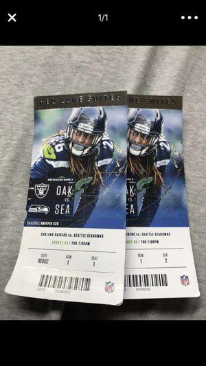 Seahawks tickets for Sale in Seattle, WA
