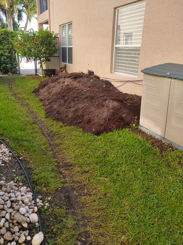 Clean Fill Or Planting Soil Dirt Free For Sale In Delray