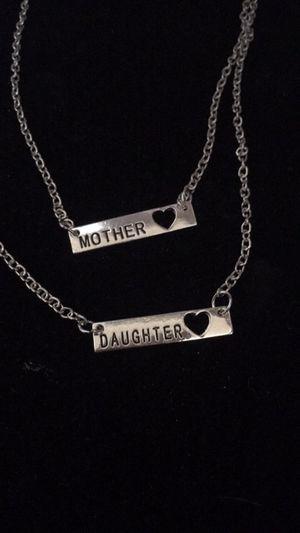 Mother daughter necklace set for Sale in Denver, CO