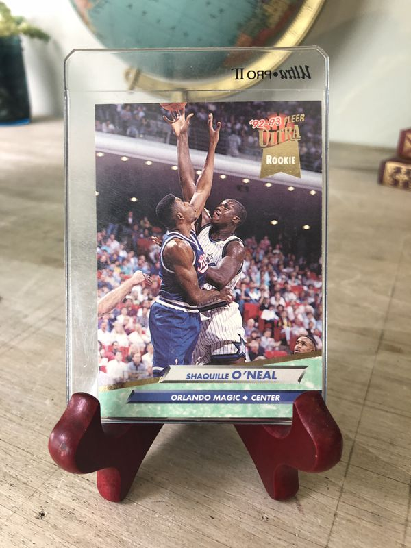 Shaq Rookie Card In Perfect Condition For Sale In Seattle Wa Offerup