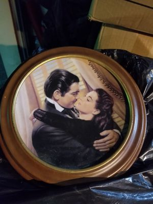 Gone with the Wind Plate for Sale in Las Vegas, NV