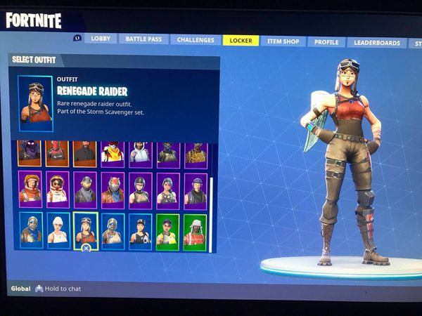 Fortnite Account Renegade Raider For Sale For Sale In