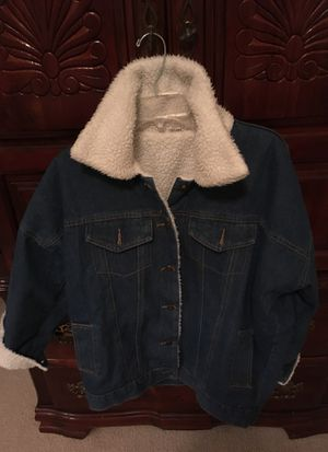 Ladies Denim Jacket (Large ) for Sale in Cary, NC