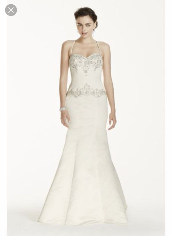 Wedding Dress Jewel By Davids Bridal For Sale In Virginia Beach Va