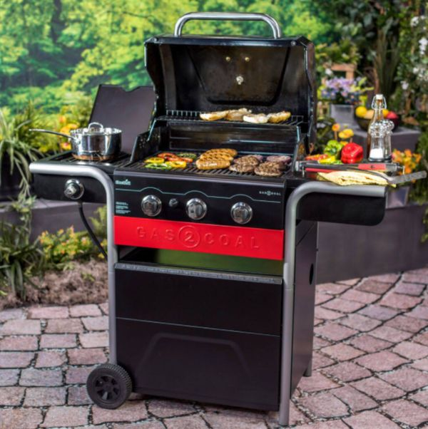 Char Broil Gas 2 Coal Hybrid Grill Bbq Barbecue Charcoal