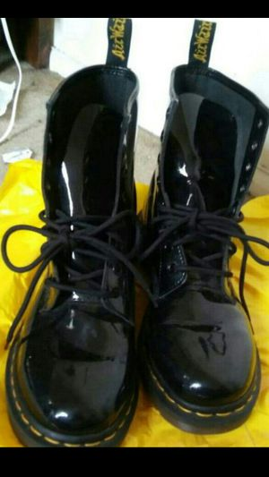 Dr.Marten boots see pictures size 7 mens $80 no lower. buyer must come to me. Boots still look new worn few times only for Sale in Washington, DC