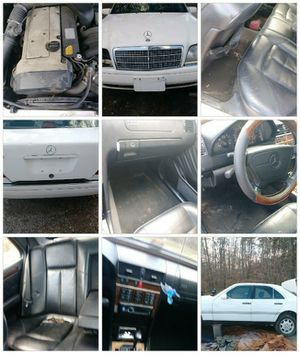 1995 Mercedes Benz E 320 need work can be fixed up or great parts car for Sale in Farmville, VA