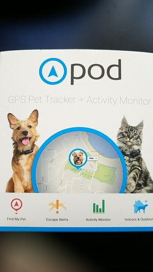 Pod GPS Pet Tracker + Activity Monitor for Sale in Seattle, WA