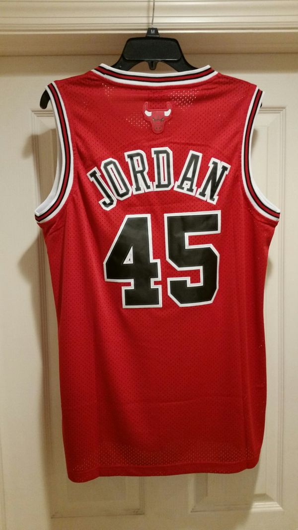 852a0c9b070 JORDAN #45 BULLS COMEBACK BASKETBALL JERSEY S M L OR XL for Sale in ...