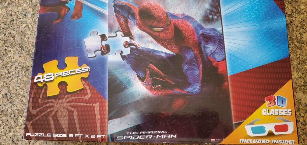 Amazing Puzzle 3 Ft X 2 Ft. Spider-man