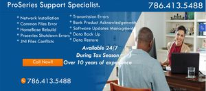 Proseries Technical Support for Sale in Miami, FL