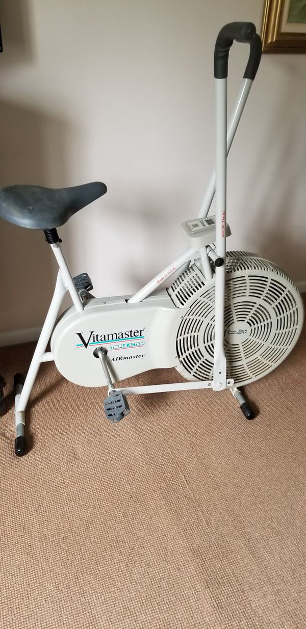 Vitamaster Exercise Bike For Sale In Beachwood Oh Offerup
