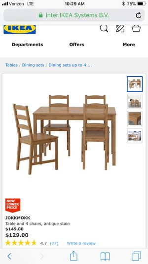 Wooden dining set for Sale in New York, NY