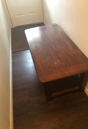 Mesa de madera para sala for Sale in Dallas, TX