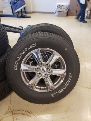 Ford F-150 chrome wheels for Sale in Potomac Falls, VA
