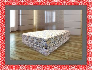 Queen plush 2pc mattress and box spring for Sale in Ashburn, VA