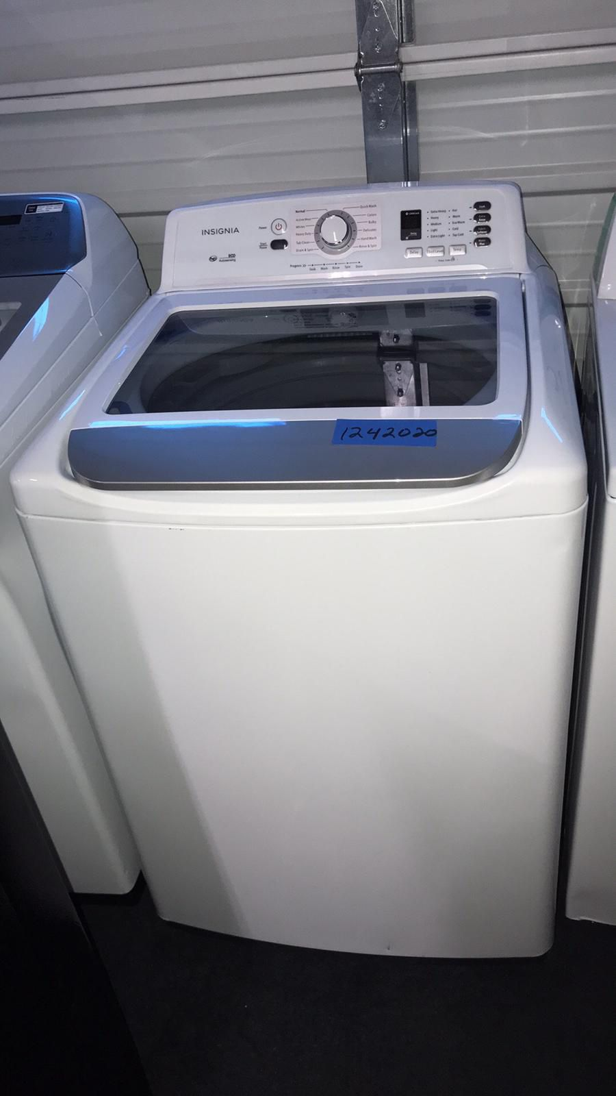 Brand New Insignia Washer Top Load -6 Months Warranty