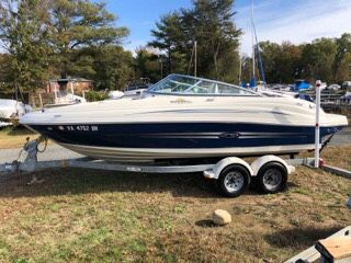 2007 sea ray sundeck 200
