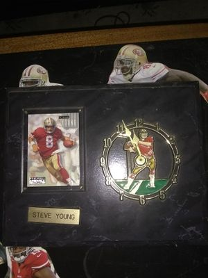 Steve Young Clock for Sale in Tacoma, WA