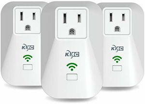KMC 3 Pack Wi-Fi Smart Plug with Energy Monitoring for Sale in Riverside, CA