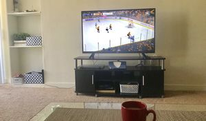 """LG 43"""" 2160p LED smart ultra HD TV +Console for Sale in St. Louis, MO"""