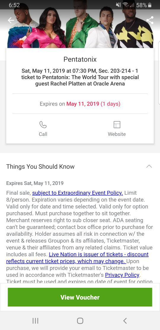 New and Used Tickets for Sale in Turlock, CA - OfferUp