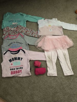 Baby clothes, Bibs, Hats, Diaper Covers, and etc for Sale in Montgomery Village, MD