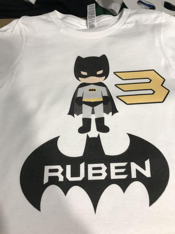 Custom Birthday Shirts Any Theme Design Shirt Tee T Batman Peppa Pig