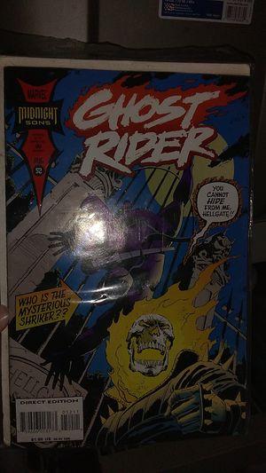 Photo Ghost Rider Comic Book