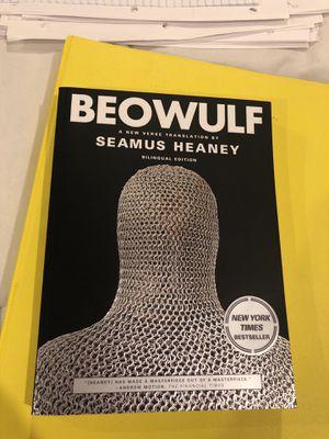 Beowulf book translated by Seamus Heaney for Sale in Pasadena, MD