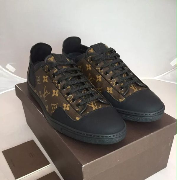 8f760740929 Louis Vuitton slalom monogram sneakers us size 10.5 for Sale in ...