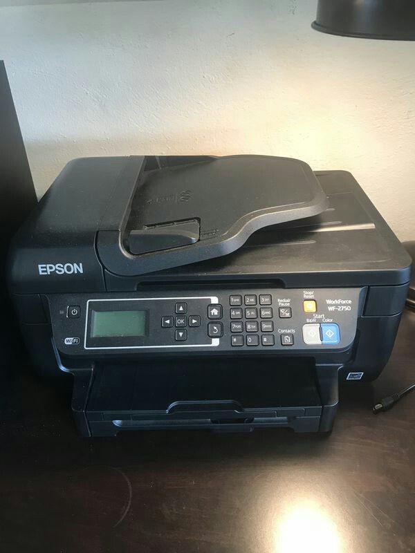 Epson Workforce WF-2750 Wireless All-In-One Printer for Sale in Fort  Lauderdale, FL - OfferUp