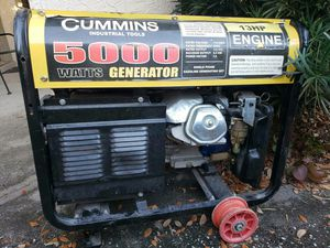 Cummins 5000 Watts generator for sale by owner for Sale in The Villages, FL