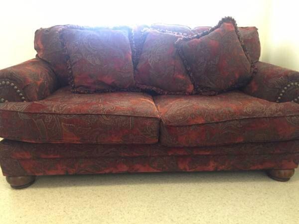 Burlington Sienna Love Seat Sofa By Ashley Furniture For