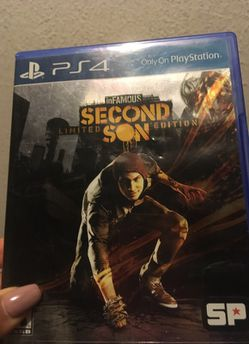 InFamous second son limited edition Thumbnail