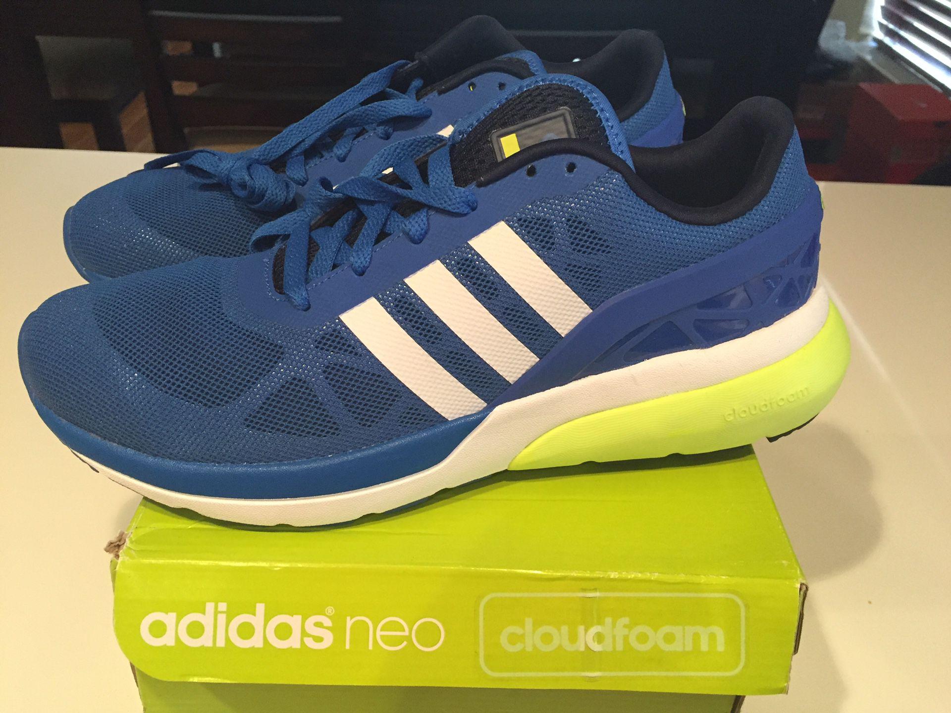 Adidas Neo Cloudfoam Flow AQ1313 Men's Tennis Shoes. Size 8.5 ...